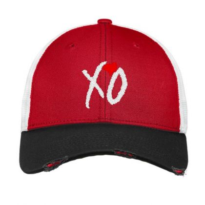 Xo Weekend Embroidery Embroidered Hat Vintage Mesh Cap Designed By Madhatter
