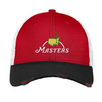 The Master Embroidery Embroidered Hat Vintage Mesh Cap Designed By Madhatter