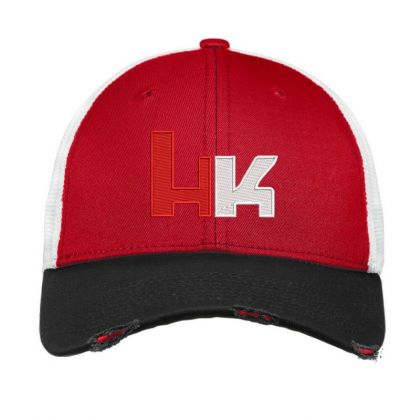 Heckler And Koch Embroidered Hat Vintage Mesh Cap Designed By Madhatter