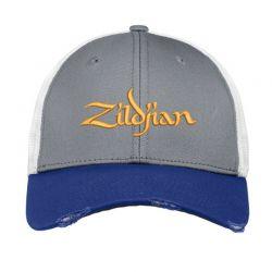 Zildjian embroidered hat Vintage Mesh Cap | Artistshot
