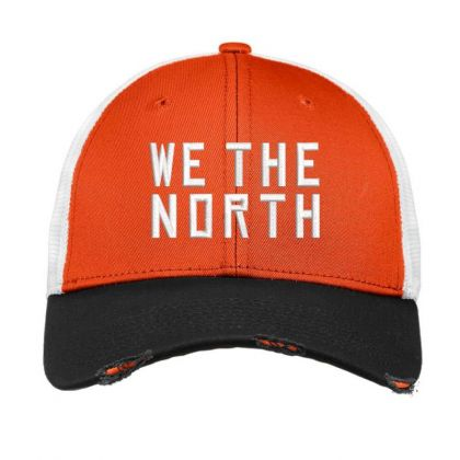 We The North Embroidered Hat Vintage Mesh Cap Designed By Madhatter