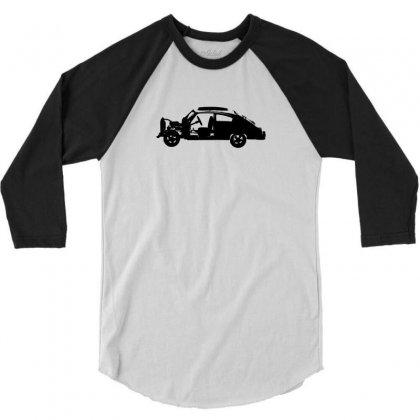 Chevy Fleetline Vehicle 3/4 Sleeve Shirt Designed By Purbawa