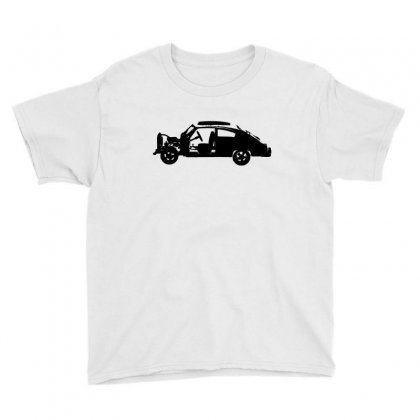 Chevy Fleetline Vehicle Youth Tee Designed By Purbawa