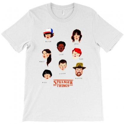 Stranger Things T-shirt Designed By Anggafadil