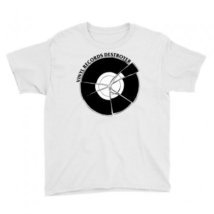 Vinyl Destroyer Youth Tee Designed By Homienice