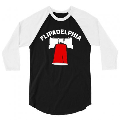 Flipadelphia 3/4 Sleeve Shirt Designed By Homienice