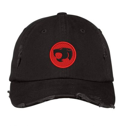 Thundercats Embroidered Hat Distressed Cap Designed By Madhatter
