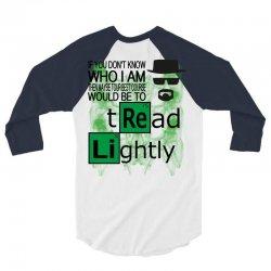 tread-lightly-bb 3/4 Sleeve Shirt | Artistshot