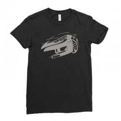 corvette c6 racing race gt endurance Ladies Fitted T-Shirt   Artistshot