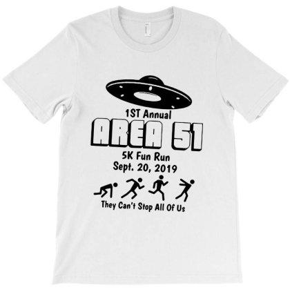 Area 51 5k Fun Run T-shirt Designed By Scarlettzoe