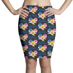 baby shark doo doo doo Pencil Skirts   Artistshot