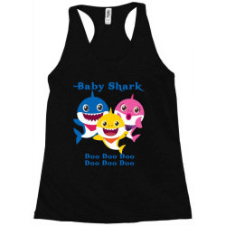 baby shark doo doo doo Racerback Tank   Artistshot