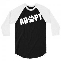 Adopt a Pet in Need 3/4 Sleeve Shirt   Artistshot