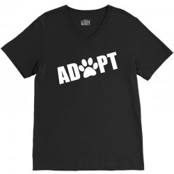 Adopt a Pet in Need V-Neck Tee   Artistshot