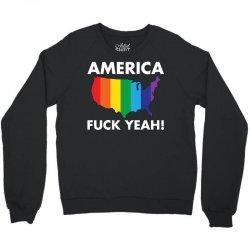 AMERICA FUCK YEAH! Crewneck Sweatshirt | Artistshot