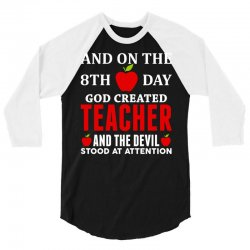 Proud Teacher 3/4 Sleeve Shirt | Artistshot
