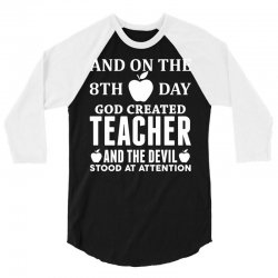 Proud Teacher 3/4 Sleeve Shirt | Artistshot