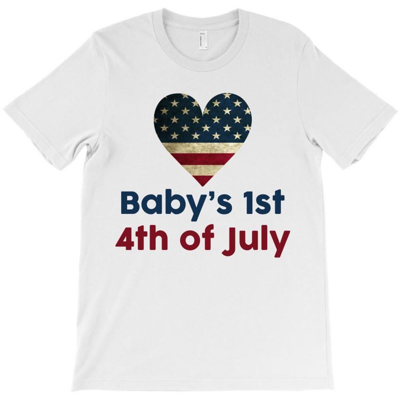 Baby's 1st 4th Of July T-shirt | Artistshot