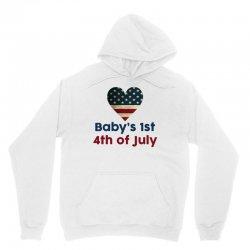 Baby's 1st 4th of July Unisex Hoodie | Artistshot