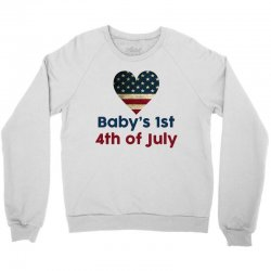Baby's 1st 4th of July Crewneck Sweatshirt | Artistshot