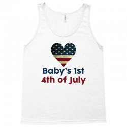 Baby's 1st 4th of July Tank Top | Artistshot