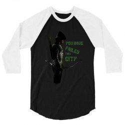 Arrow - you have failed this city 3/4 Sleeve Shirt | Artistshot