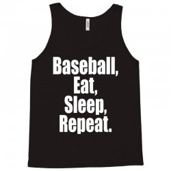 Eat Sleep Baseball Repeat Funny Tank Top | Artistshot