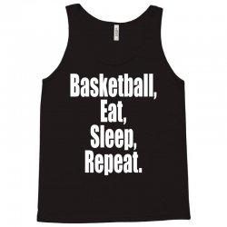 basketball eat sleep repeat Tank Top | Artistshot