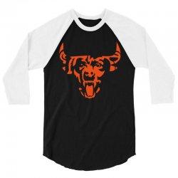 Bear Bull 3/4 Sleeve Shirt | Artistshot