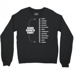 Beard Growth Chart Crewneck Sweatshirt | Artistshot