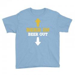 Beer in Beer out Youth Tee | Artistshot