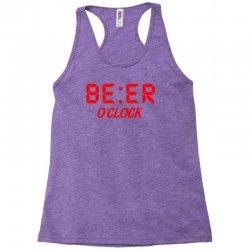 Beer O'clock Racerback Tank | Artistshot