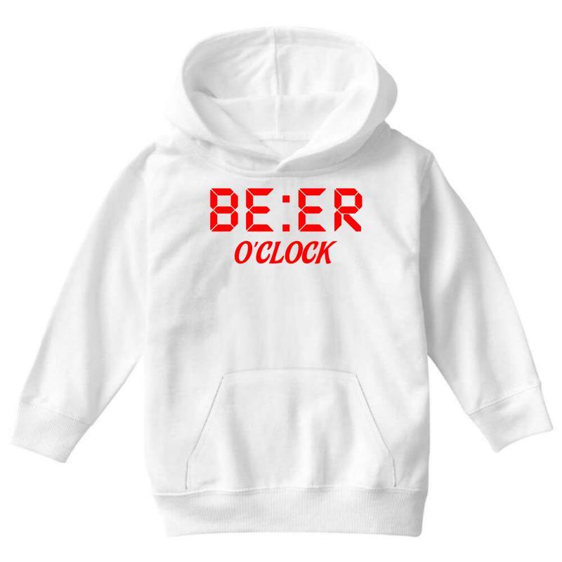Beer O'clock Youth Hoodie | Artistshot