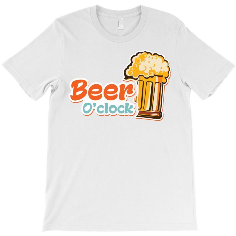 Beer O'clock T-shirt | Artistshot