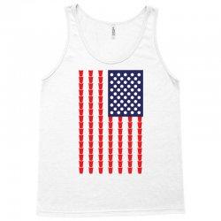 Beer Pong American Flag Tank Top | Artistshot