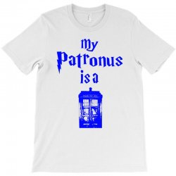 my patronus  is a tardis T-Shirt | Artistshot