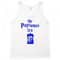 my patronus  is a tardis Tank Top | Artistshot