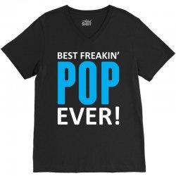 Best Freakin' Pop Ever V-Neck Tee | Artistshot