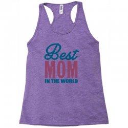 Best Mom In The World Racerback Tank | Artistshot