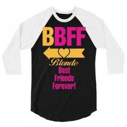 Blonde Best Friend Forever Left Arrow. 3/4 Sleeve Shirt | Artistshot