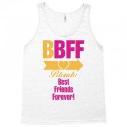 Blonde Best Friend Forever Right Arrow Tank Top | Artistshot