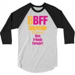 Blonde Best Friend Forever Right Arrow 3/4 Sleeve Shirt | Artistshot