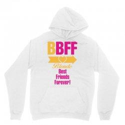 Blonde Best Friend Forever Right Arrow Unisex Hoodie | Artistshot