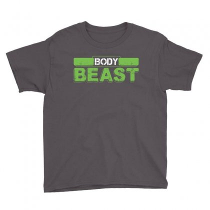 Body Beast Youth Tee Designed By Tshiart