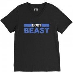 Body Beast V-Neck Tee   Artistshot