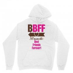 Brunette Best Friends Forever Unisex Hoodie   Artistshot