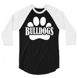 Bulldogs 3/4 Sleeve Shirt | Artistshot