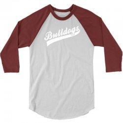 Bulldogs 3/4 Sleeve Shirt | Artistshot