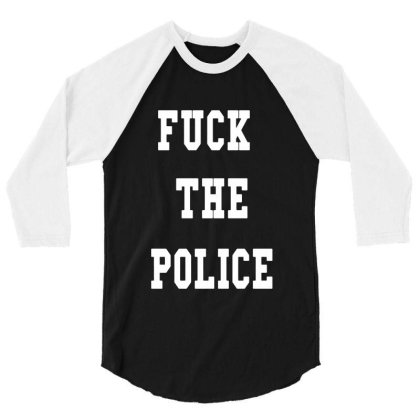 The Police 3/4 Sleeve Shirt Designed By Pinkanzee