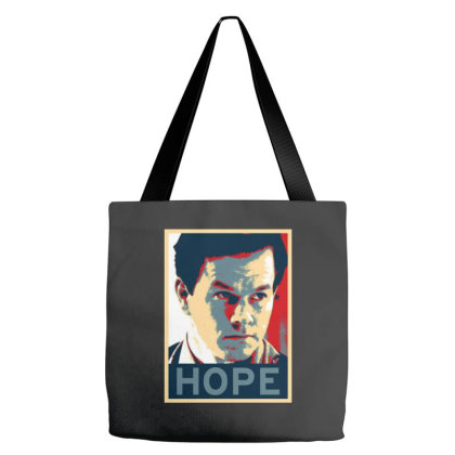 Hope Poster Tote Bags Designed By Pinkanzee